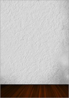 壁のひび割れ修繕後①