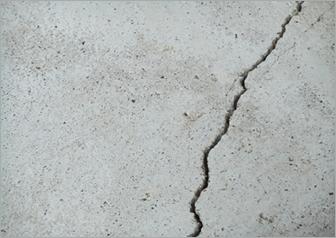 壁のひび割れ修繕前③