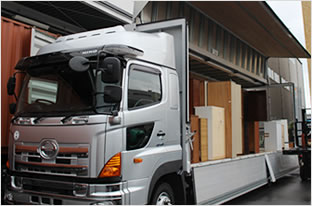 産業家庭粗大ごみの回収廃棄物収集運搬